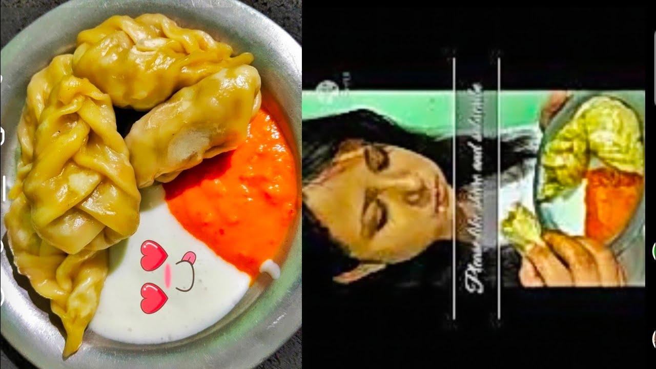 Download Momo eating mukbang|| Big bites|| Veg-momo eating|| Spicy street food|| Home made momo,chutney, mayo
