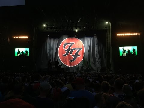 Foo Fighters - 20th Anniversary Blowout & DC Brau Rally Ride! RFK Stadium in Washington D.C. 2015