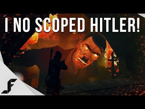 I No Scoped Hitler! - Zombie army trilogy gameplay