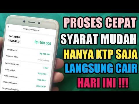 Aplikasi Pinjaman Online Langsung Cair Proses Cepat Hanya