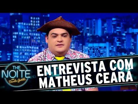 The Noite (19/02/16) - Entrevista Com Matheus Ceará