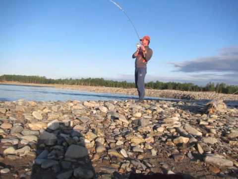 Рыбалка в Магадане на реке Яна 2015