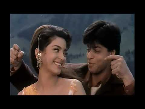 "Juhi Chawla&Shahrukh Khan - Yes, Boss/Джухи Чавла и Шакрукх Кхан в к/ф ""Йес, Босс!"" (1997)"