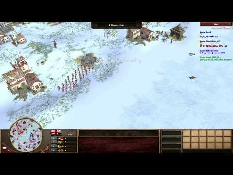 [AOE 3 - TAD] Fard (Fre) vs Blackstar (Port) + Duo commentar