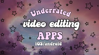 AESTHETIC Video editing app *WITH TUTORIAL* ios/android