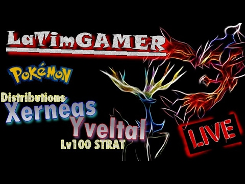 Distribution xerneas yveltal strat shiny l gendaires au jmm youtube - Legendaire shiney ...