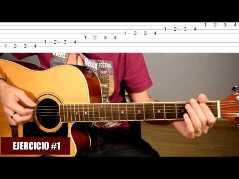 5 Ejercicios Excelentes Para Practicar A Diario En Guitarra Acústica #1: Digitación TCDG