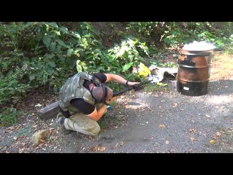 Shooting With a Plate Carrier: Arsenal AK47 SLR-107 w/Aimpoint micro T-1