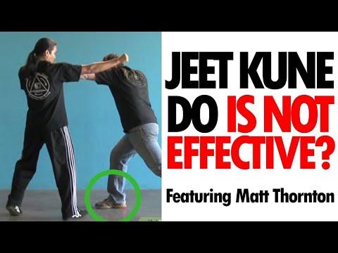 Is Jeet Kune Do an Effective Self Defense form? • ft. Matt Thornton