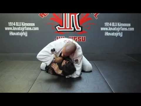 Rafael Lovato Jr Teaches Ezekiel Choke From The Mount