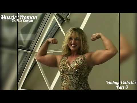 Vintage Collection | Muscle Woman | Female Bodybuilder | Fitness Model | Bodybuilding Motivation FBB