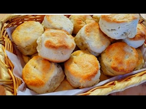 15 Minutes Whipping Cream Biscuits/ How To Make Biscuits