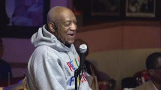 Bill Cosby performs in public for first time since sex abuse scandal