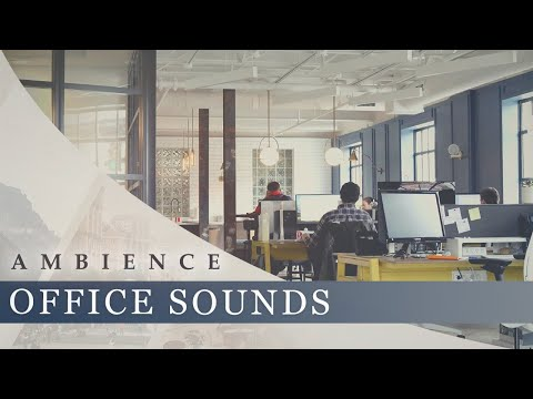 Office Sounds Ambience People Chatter Typing Air Conditioning Computer Fans Youtube