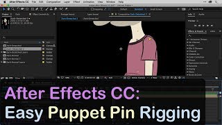 After Effects CC: Easy Puppet Pin Rigging