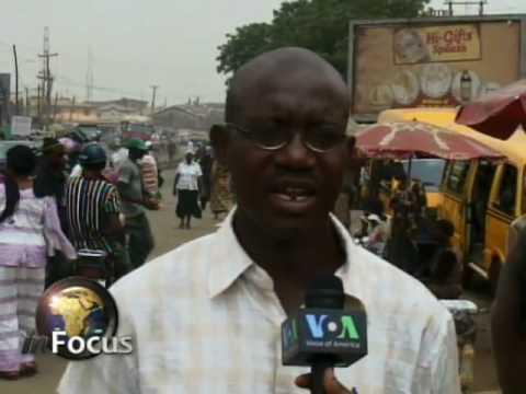 Nigeria Unemployment on VOA's In Focus