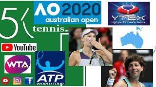 Australian Open 2020 Tennis News. Serena & Coco Guaff win. Sabalenka, Yastremska & Dimitrov Lose.