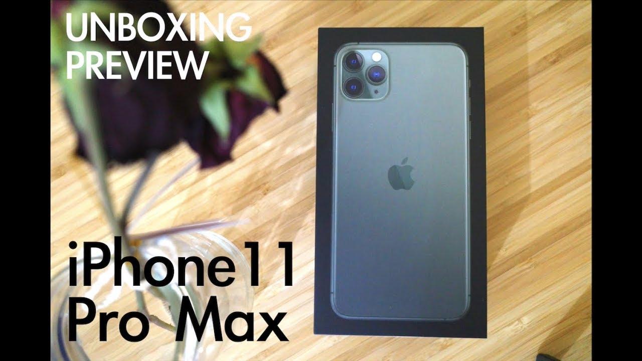 แกะกล่อง พรีวิว iPhone 11 Pro Max ตัวท็อป!!! (unboxing)(preview)