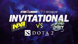 [DOTA 2 LIVE] Na`vi vs Team Spartak Bo3 - Main Qualifiers -  StarLadder