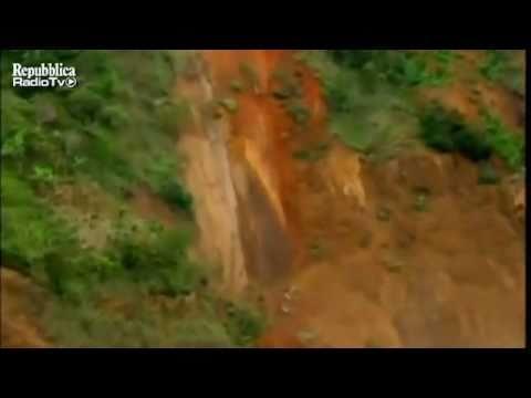 Deslizamiento en Colombia, Santafe y cañas Gordas