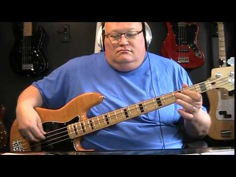 Starbuck Moonlight Feels Right Bass Cover with...