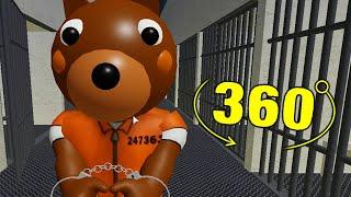 ROBLOX PIGGY PRISONER DOGGY JUMPSCARE 360