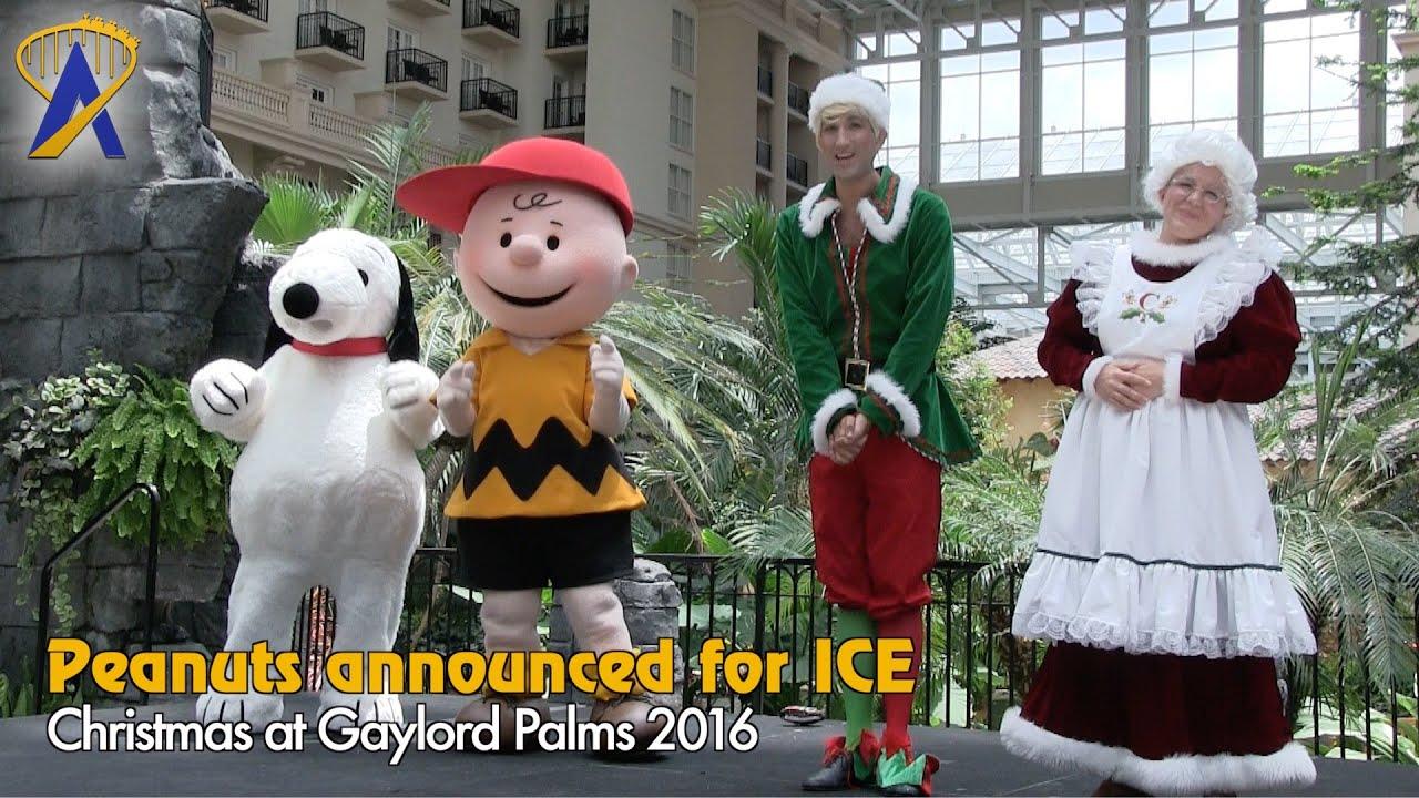 Youtube Charlie Brown Christmas.Charlie Brown Christmas Coming To Ice At Gaylord Palms 2016