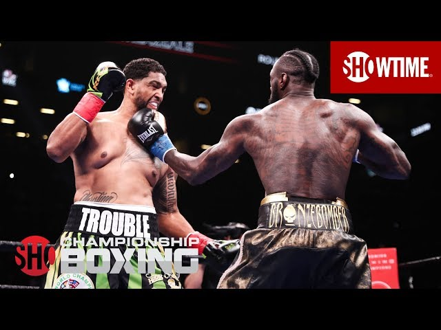 Deontay Wilder's Thrilling First Round Knockout   All Angles   SHOWTIME CHAMPIONSHIP BOXING