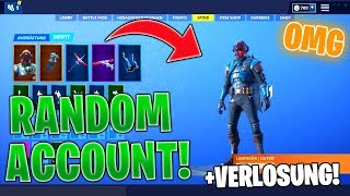 I BUY a FORTNITE ACCOUNT with *RANDOM* SKINS! | Fortnite random account buy