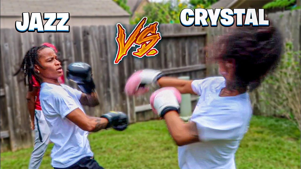 Jazz KNOCKS OUT Crystal!!! *FULL BOXING MATCH*