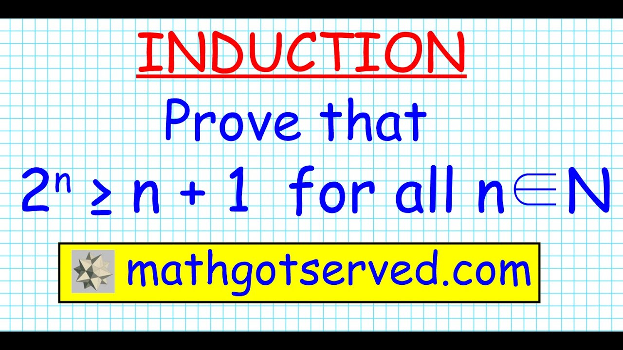 15 proof prove induction 2n is greater than or equal to 1n 15 proof prove induction 2n is greater than or equal to 1n inequality biocorpaavc