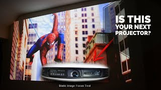 JK 200 HD Projector Review - Cool DLP Projector Under $400