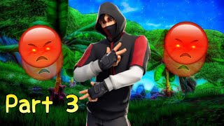 Salty Fortnite Kids React To IKONIK Skin & Scenario Emote Part 3