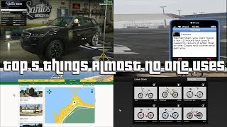 GTA Online Top 5 Things Almost Nobody Uses