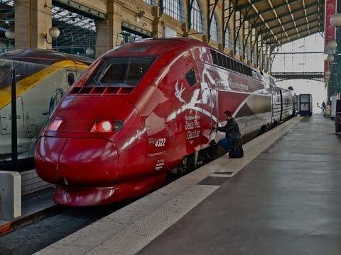 Thalys 9315 first class train ride: Paris (Nord) - Amsterdam