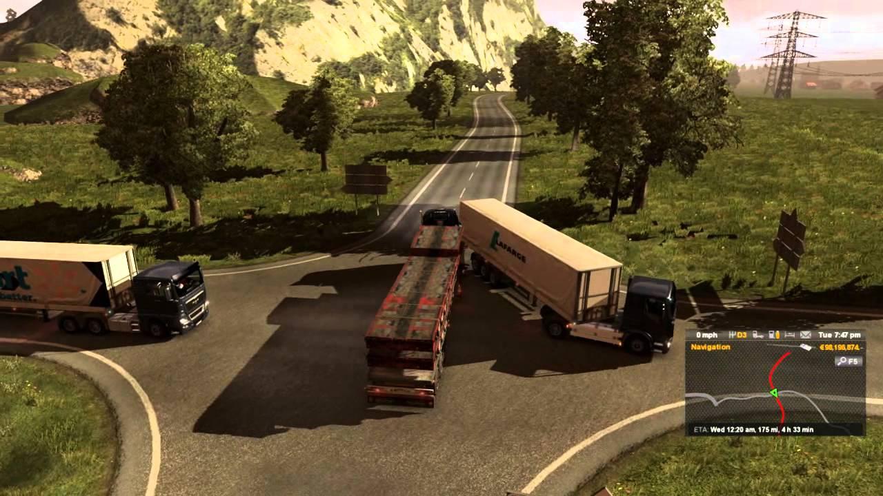Custom AI Realistic Heavy Traffic Mod - ETS2