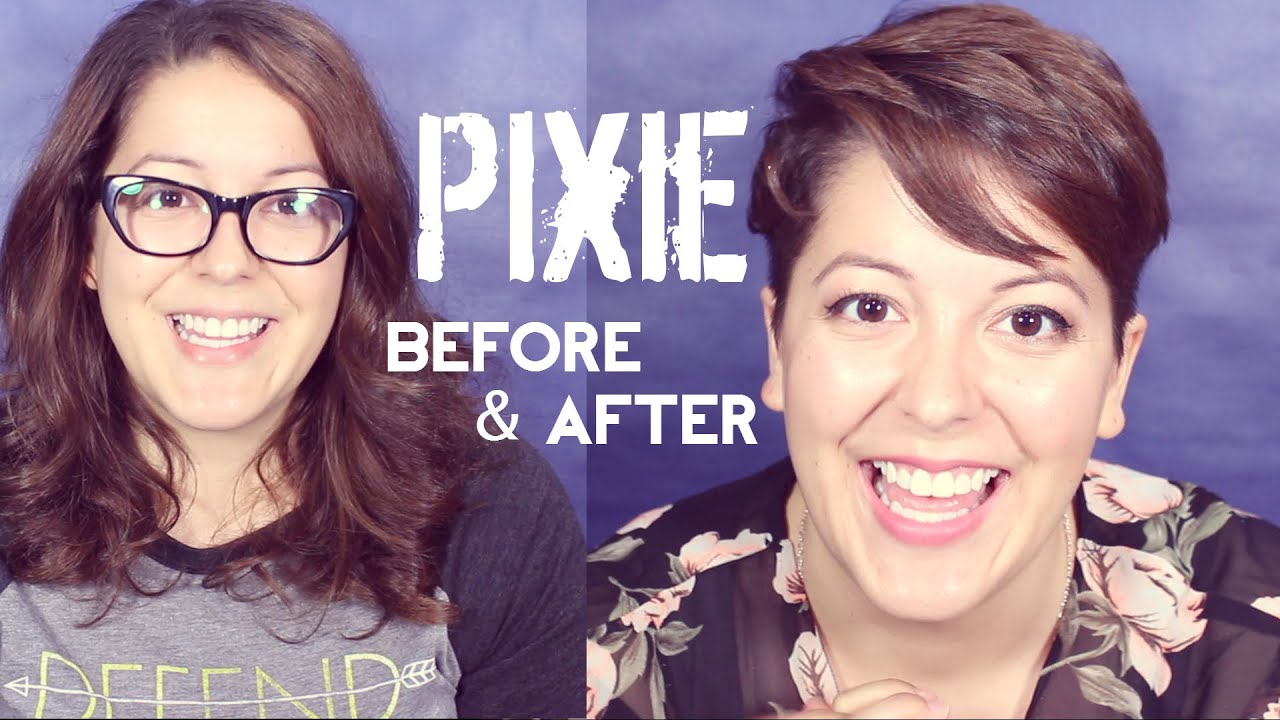 Pixie Before After Youtube