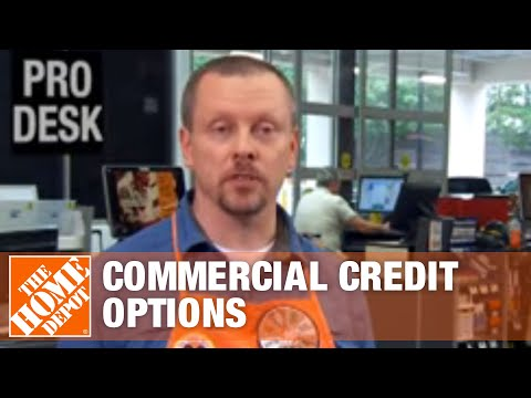 Commercial Credit Options - The Home Depot