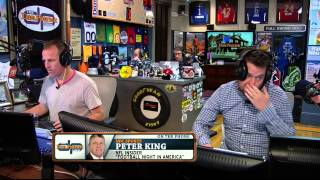 Peter King on the Dan Patrick Show (Full Interview) 4/15/14