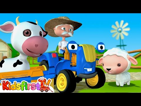 Old McDonald had a farm. Songs for kids.