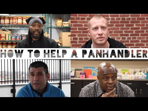 Former Panhandlers on How to Help a Panhandler - Confessions #10