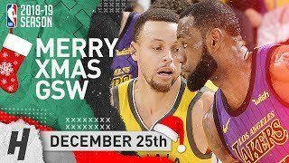 LeBron James & the Lakers DESTROY Golden State Warriors on 2018 Christmas Day | NBA Highlights