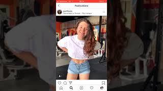 Jujuficats qui twerk sur Instagram