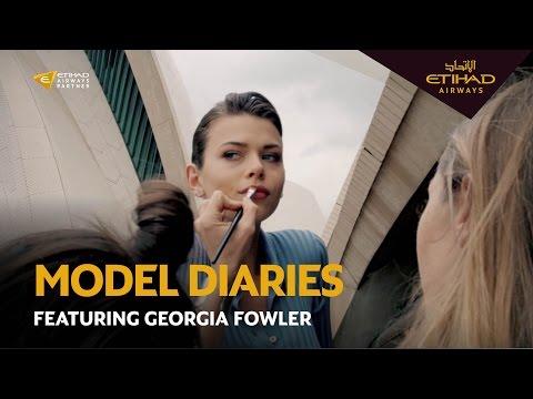 Model Diaries - Georgia Fowler's Journey to Sydney Fashion Week