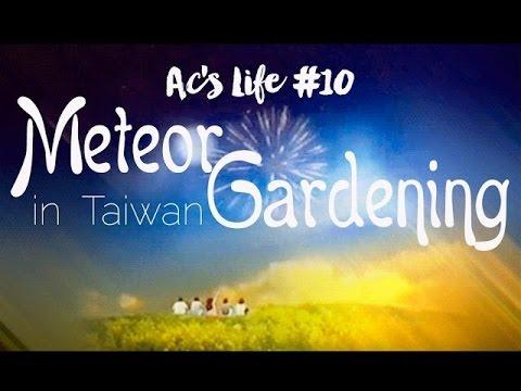 AC's Life: Meteor Gardening in Taiwan!