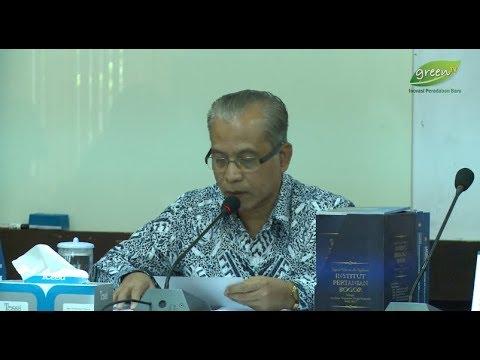 LPJ Rektor IPB sebagai Pijakan Renstra Rektor Periode 2017-2022 Mp3
