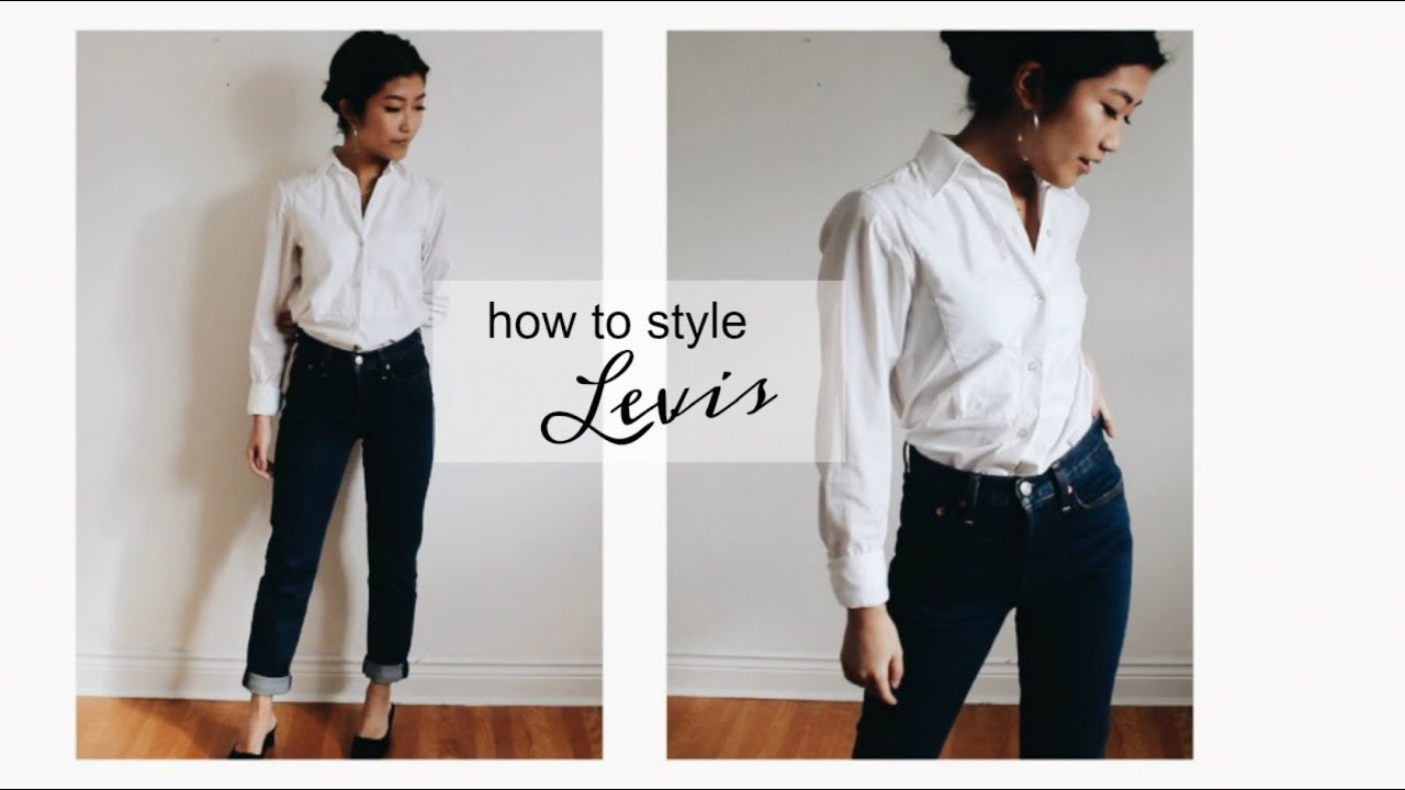How to Style Levi's Jeans/Fall Outfits | petitejuls 7
