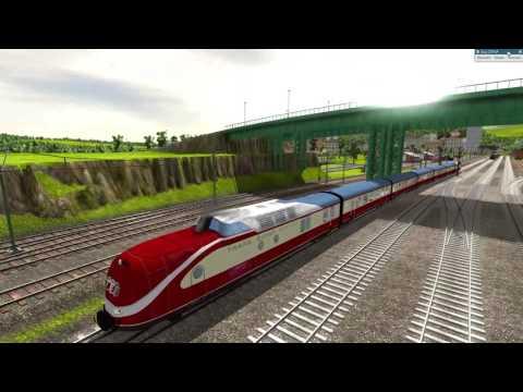 Train Fever   DB 1965: Mit dem TEE von Bad Wörishofen-München
