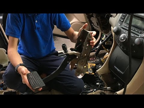 How To Remove Brake Pedal Assembly Honda Accord | DIY Auto Repair Guide & How-To Fix Ideas