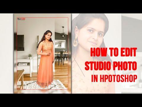 How To Edit Simple Studio Photo In Photoshop CC Speedart